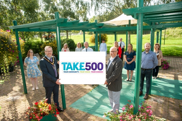 Tak£ 500 Your Community, your voice, your choice!